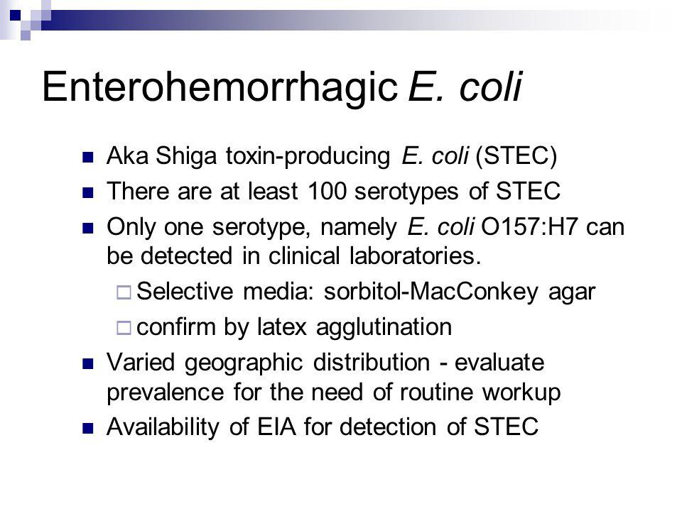 Enterohemorrhagic E. coli