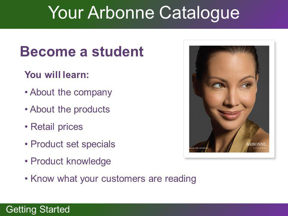 Your Arbonne Catalogue