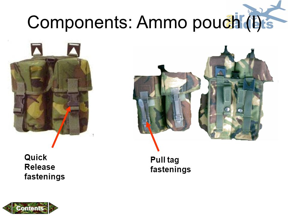 Components: Ammo pouch (I)