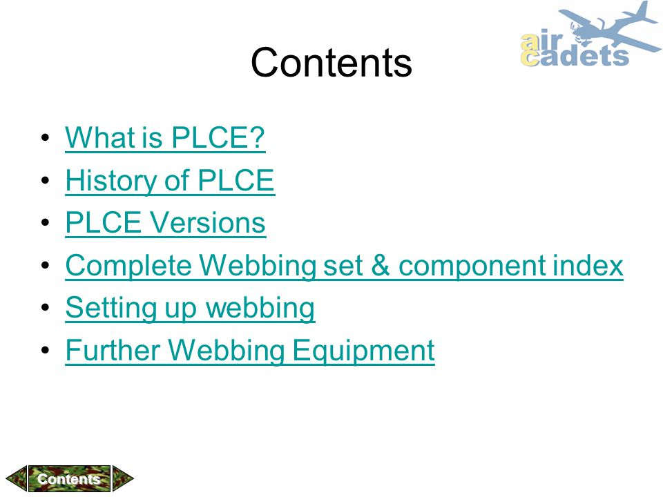 Contents What is PLCE History of PLCE PLCE Versions