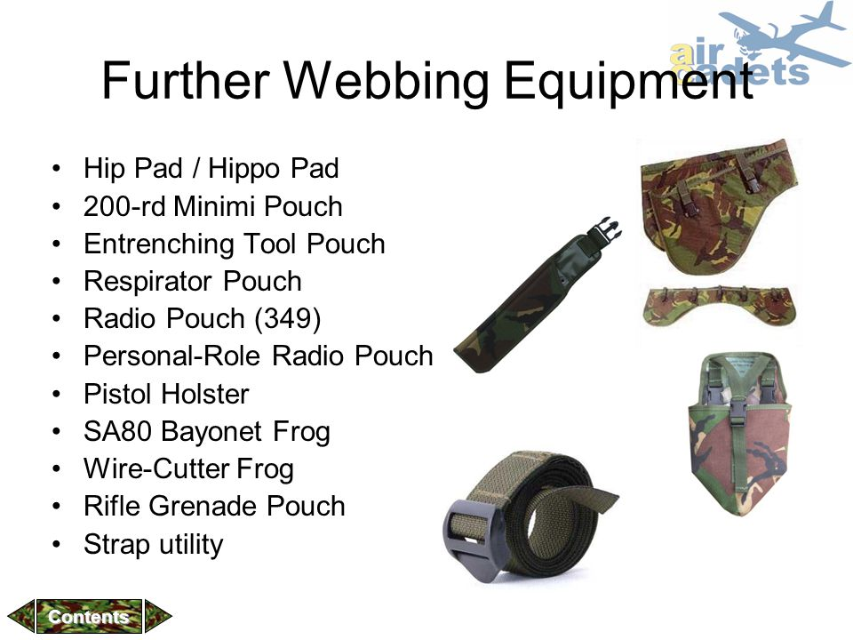 Further Webbing Equipment
