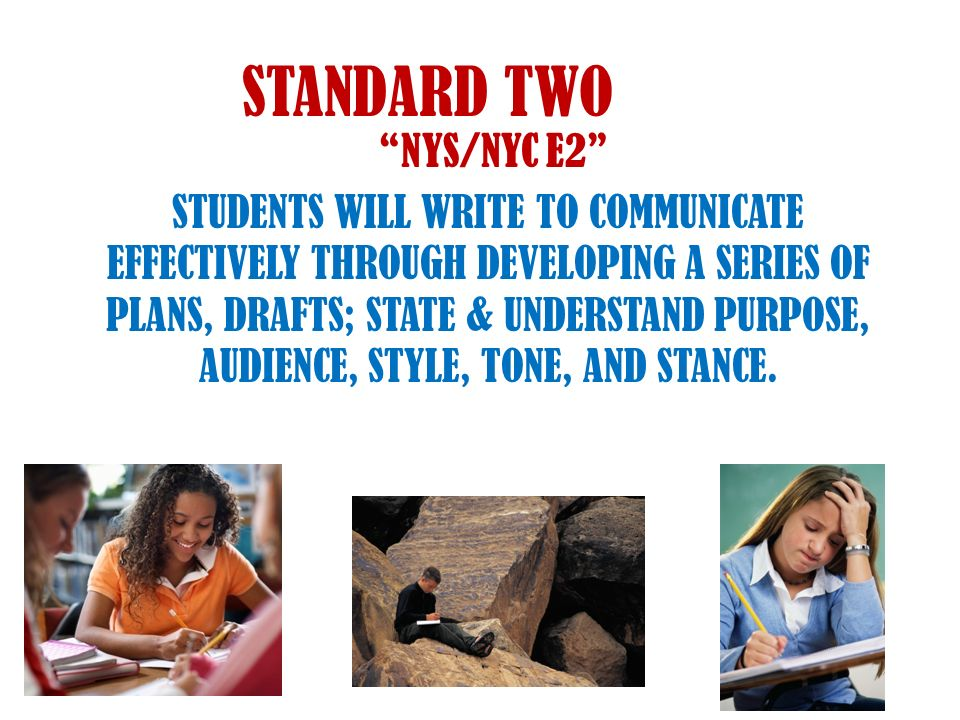 STANDARD TWO NYS/NYC E2