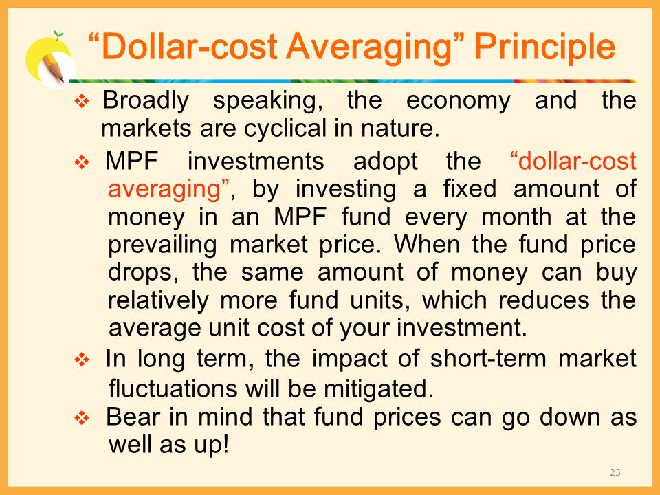 Dollar-cost Averaging Principle