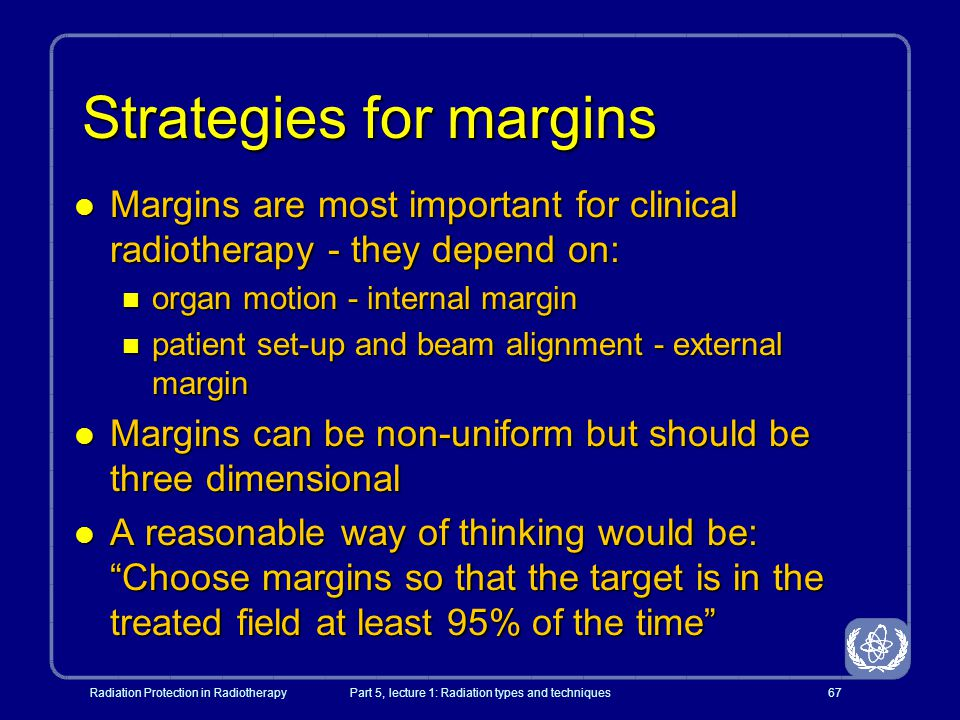 Strategies for margins