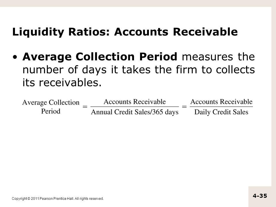 Liquidity Ratios: Accounts Receivable