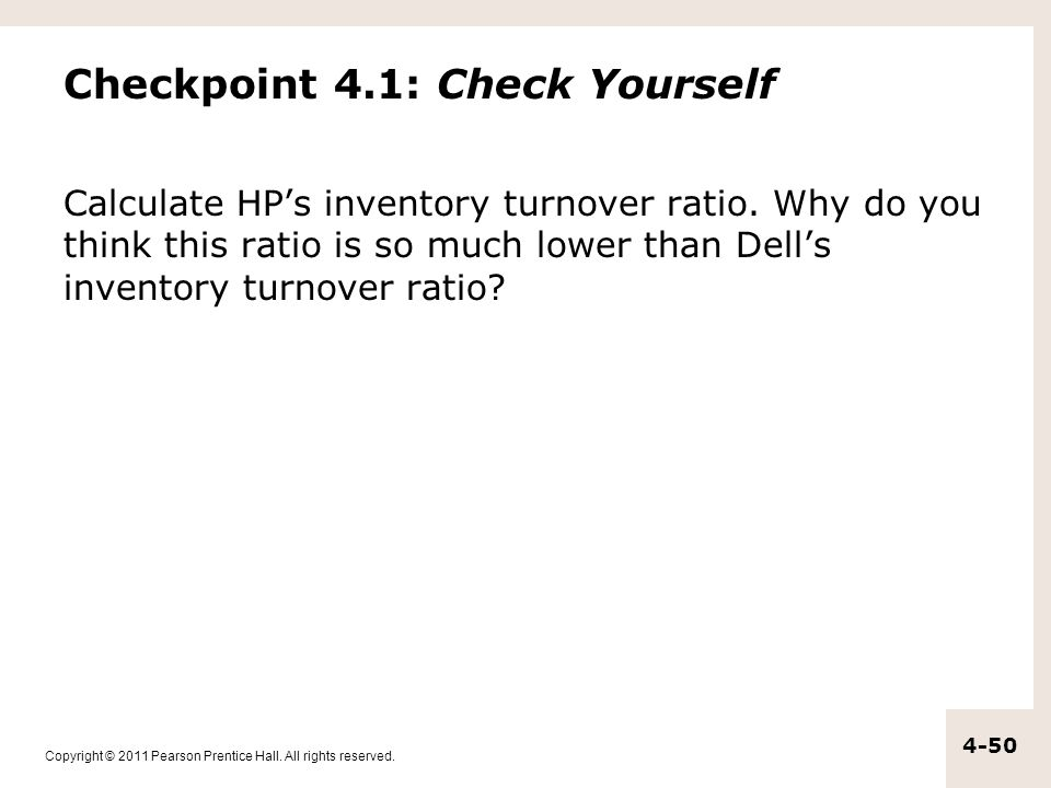 Checkpoint 4.1: Check Yourself
