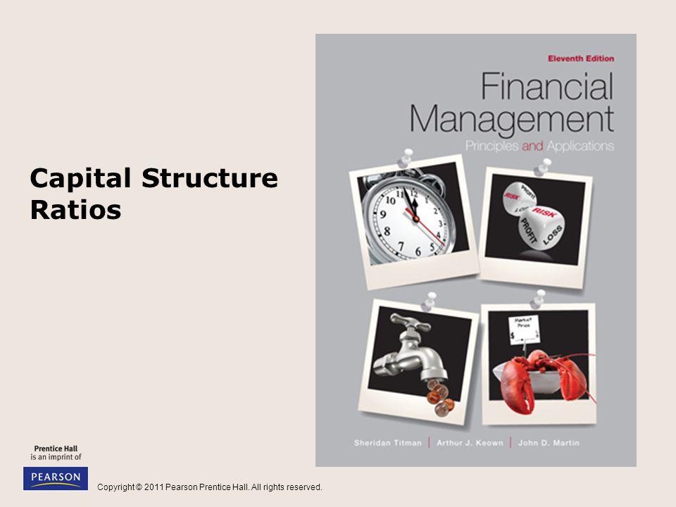 Capital Structure Ratios