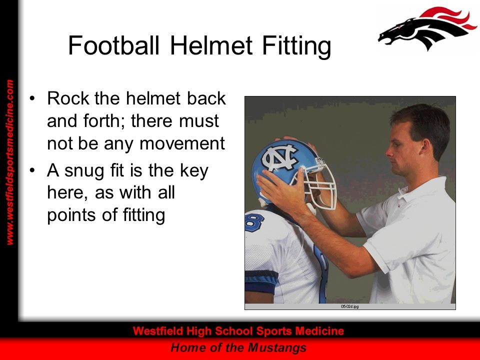 Football Helmet Fitting