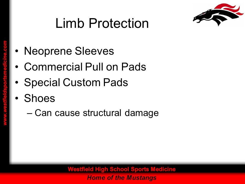 Limb Protection Neoprene Sleeves Commercial Pull on Pads