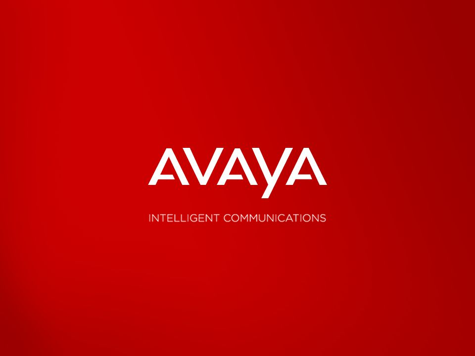 2010 Avaya Inc. All rights reserved.