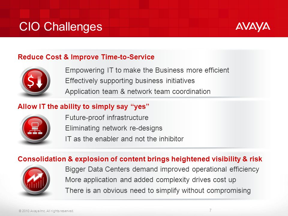 CIO Challenges Reduce Cost & Improve Time-to-Service