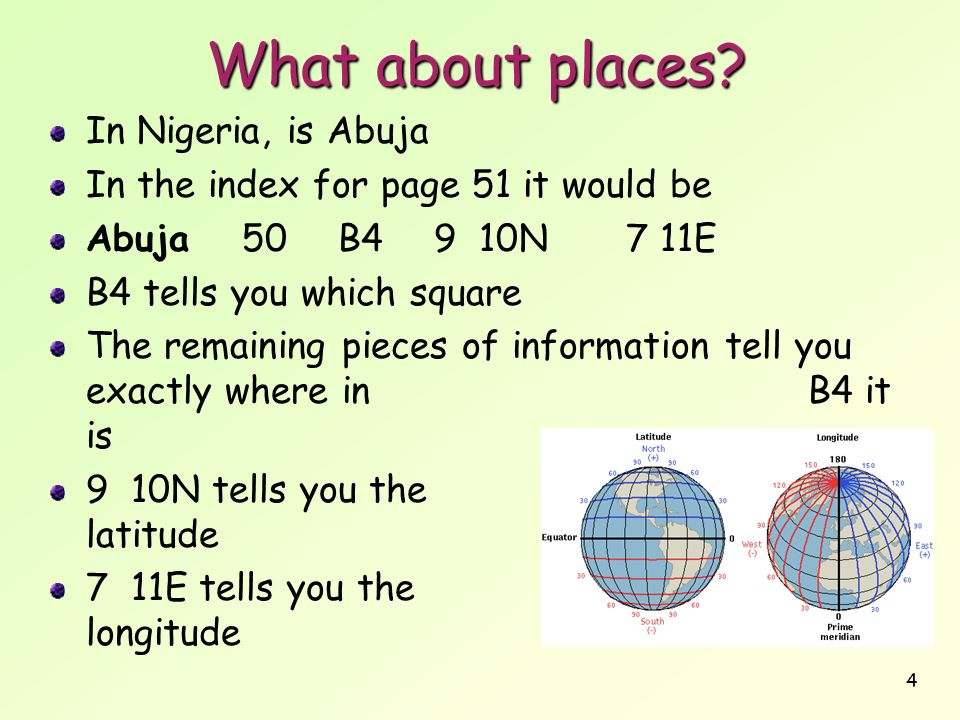 What about places In Nigeria, is Abuja