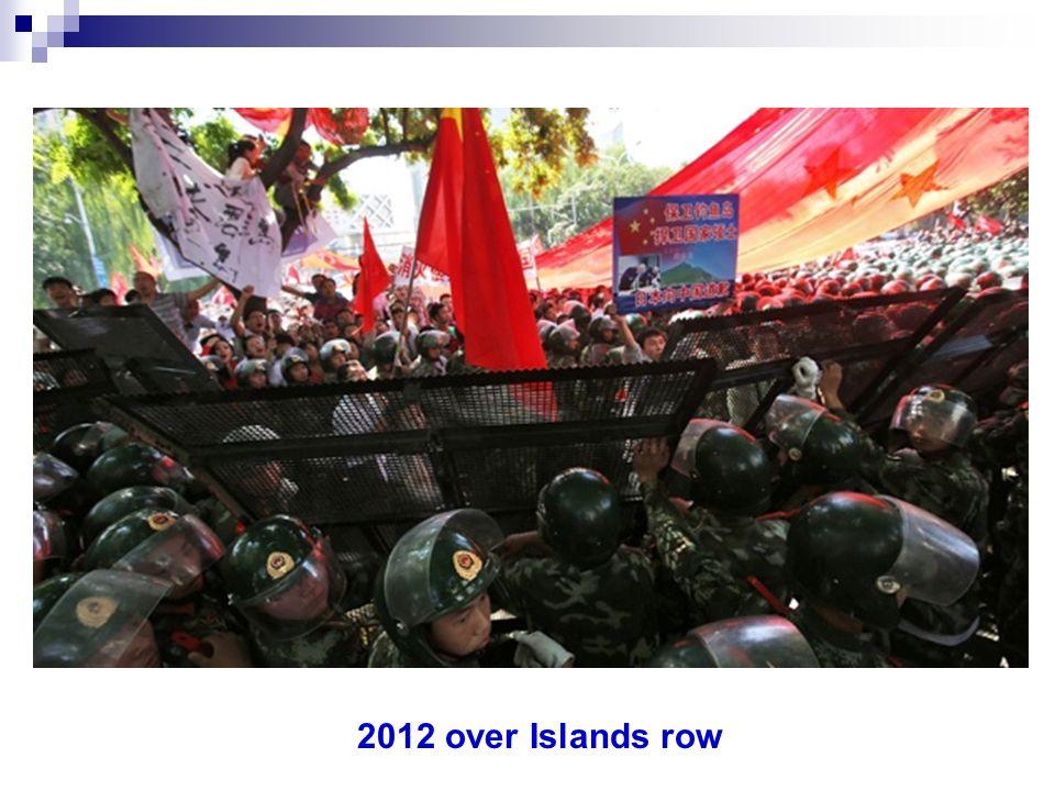 2012 over Islands row