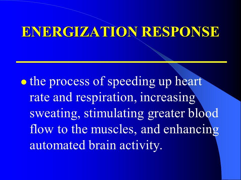 ENERGIZATION RESPONSE