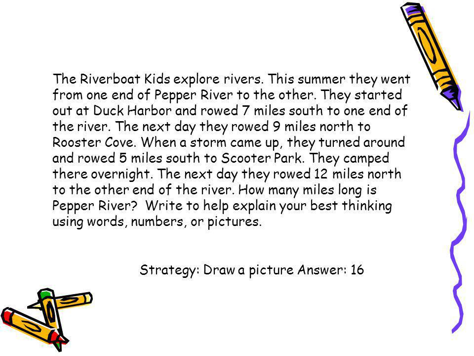 The Riverboat Kids explore rivers