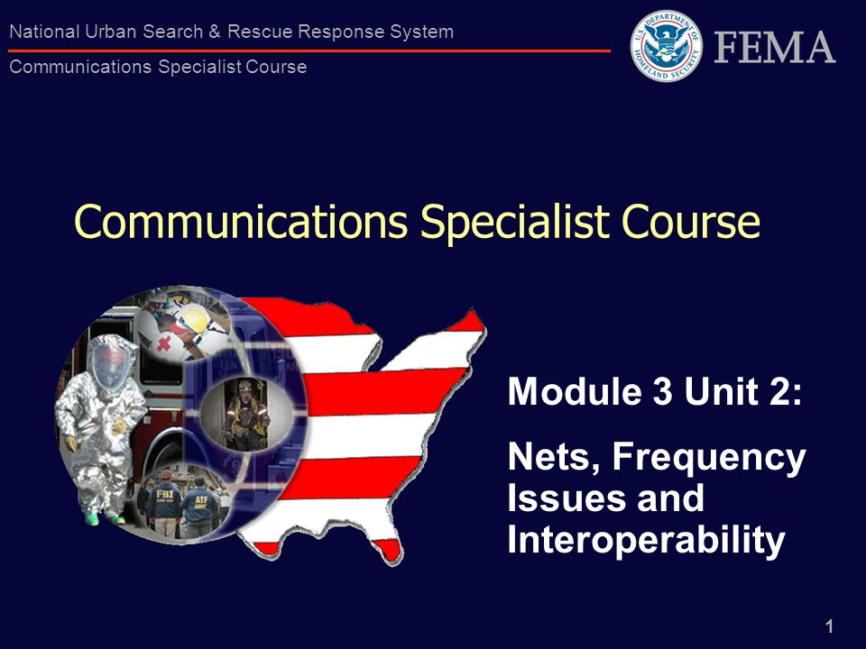 Communications Specialist Course