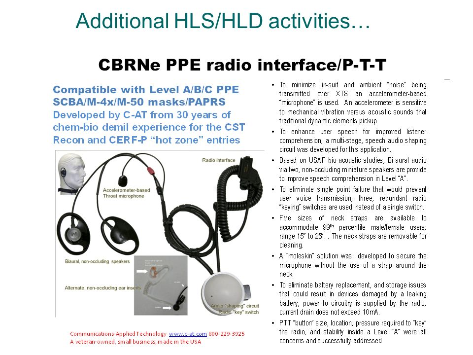 Additional HLS/HLD activities…