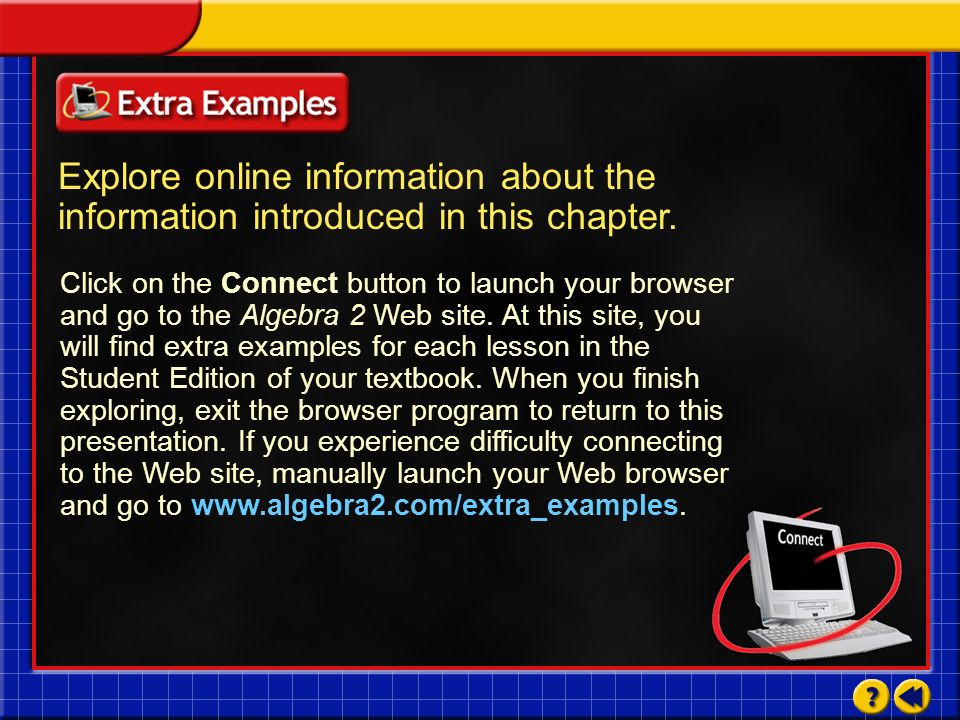 Explore online information about the information introduced in this chapter.