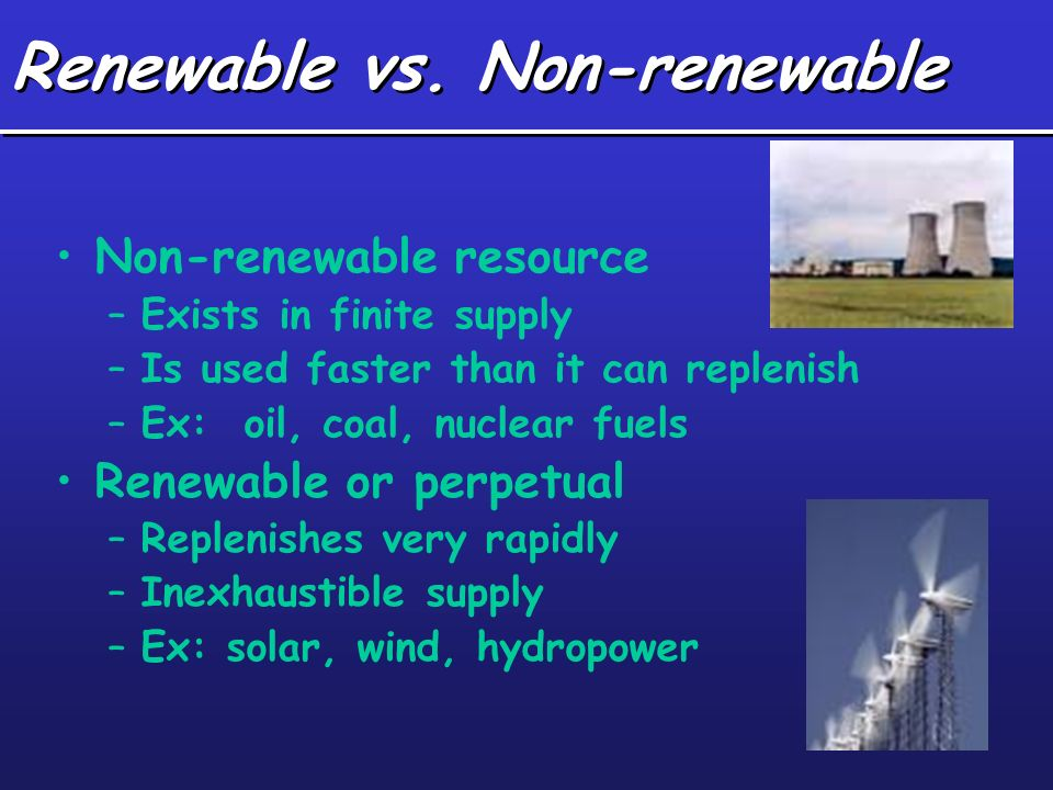 Renewable Energy Sources - Teen Essay on the
