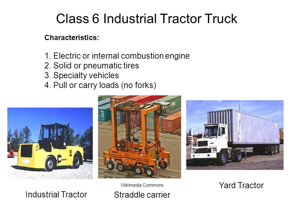 Class 6 Industrial Tractor Truck