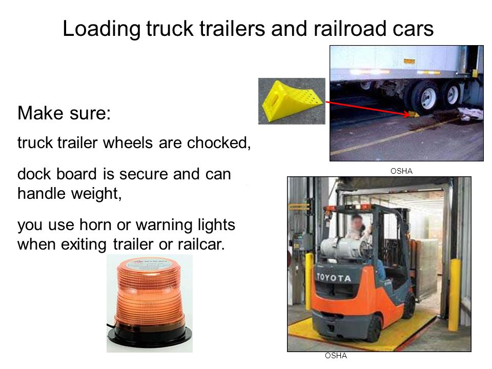 Loading truck trailers and railroad cars