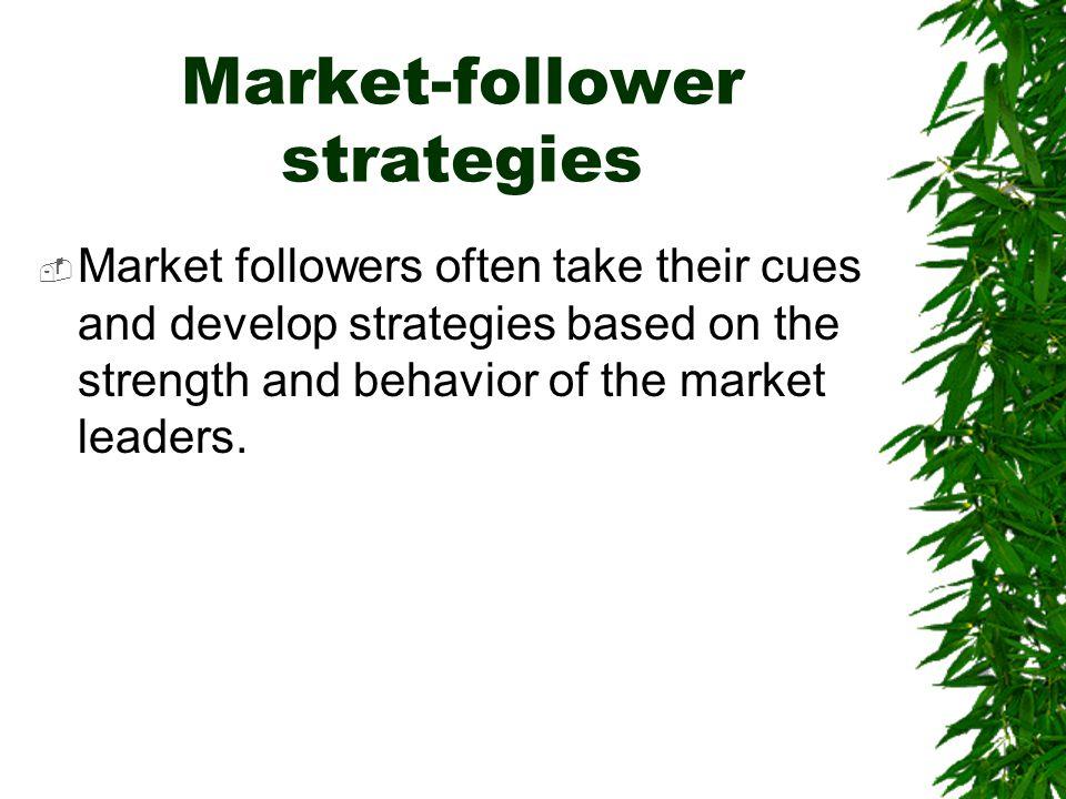 Market-follower strategies