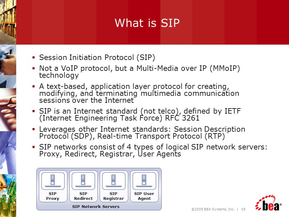 What is SIP Session Initiation Protocol (SIP)