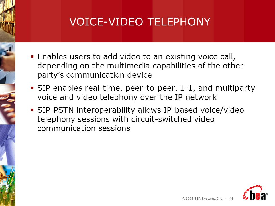 VOICE-VIDEO TELEPHONY