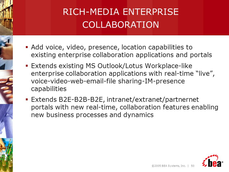 RICH-MEDIA ENTERPRISE COLLABORATION