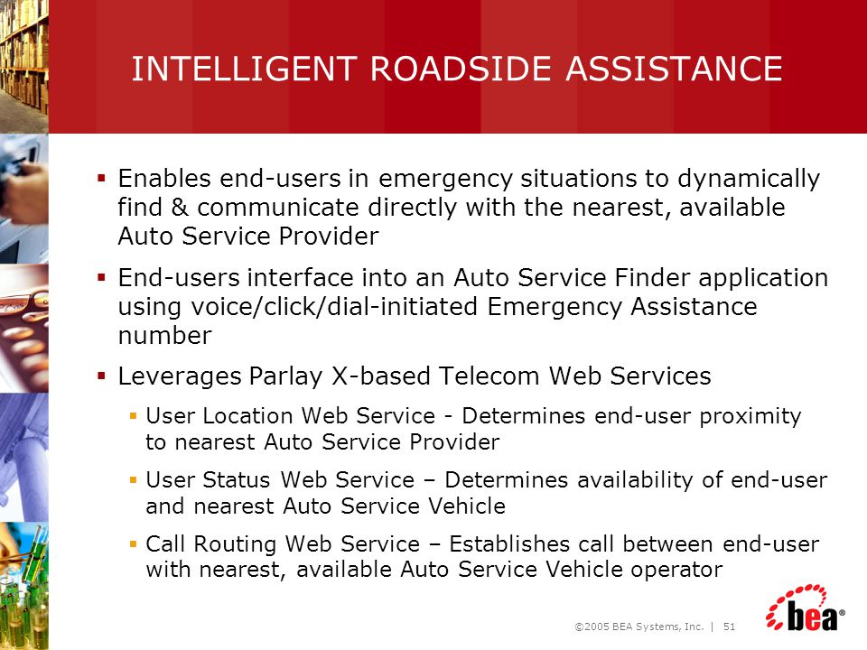 INTELLIGENT ROADSIDE ASSISTANCE