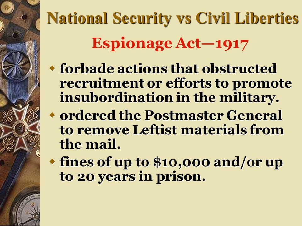 National Security vs Civil Liberties