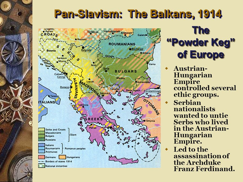 Pan-Slavism: The Balkans, 1914 The Powder Keg of Europe