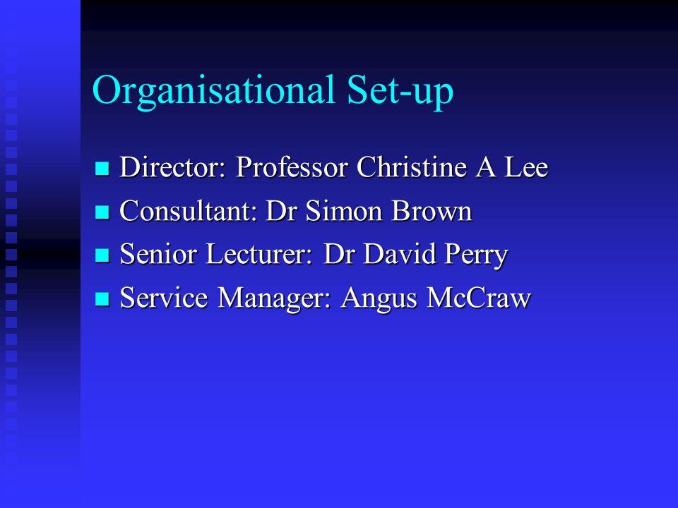 Organisational Set-up