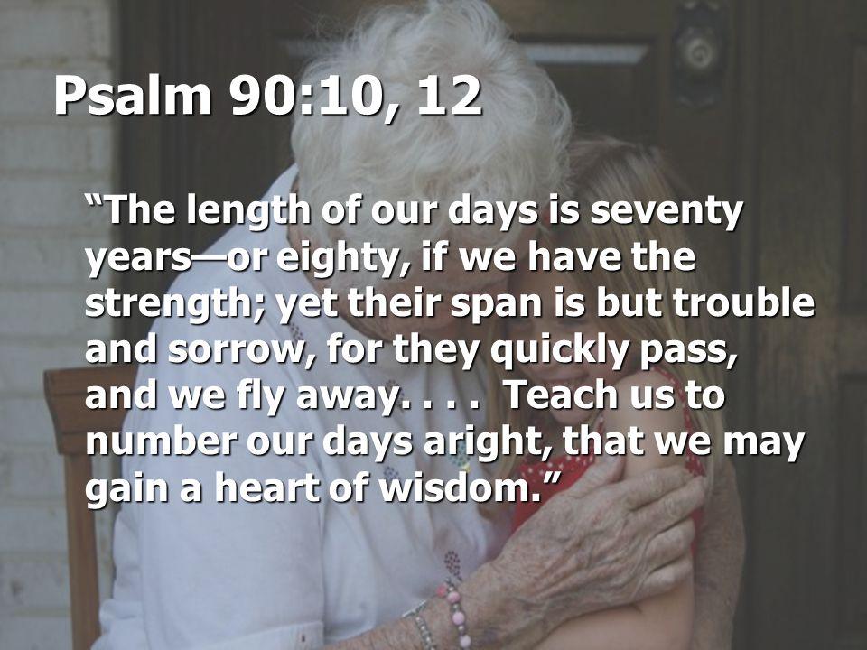 Psalm 90:10, 12