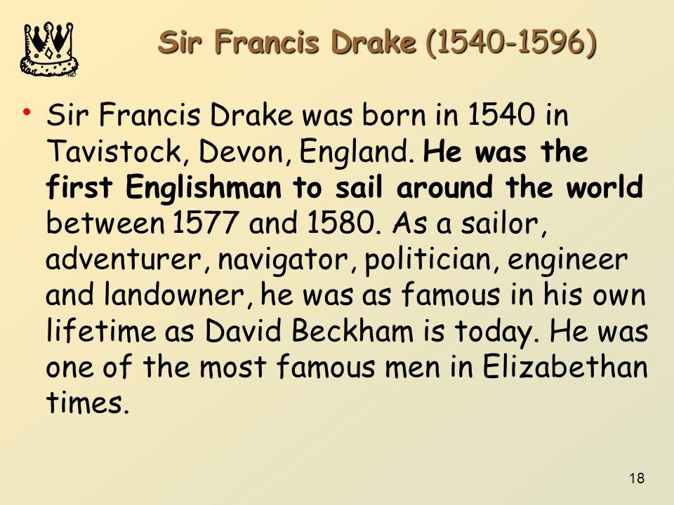 Sir Francis Drake (1540-1596)