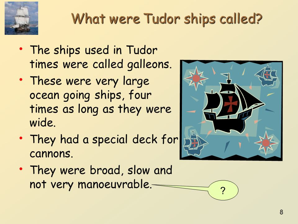 What were Tudor ships called
