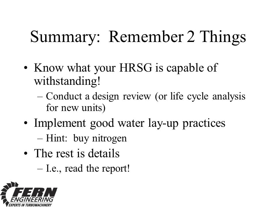 Summary: Remember 2 Things