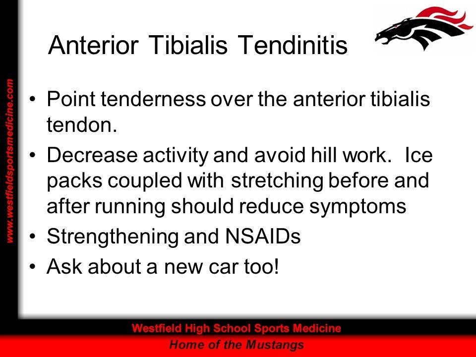Anterior Tibialis Tendinitis