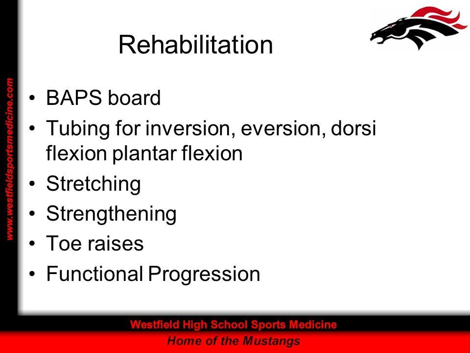 Rehabilitation BAPS board
