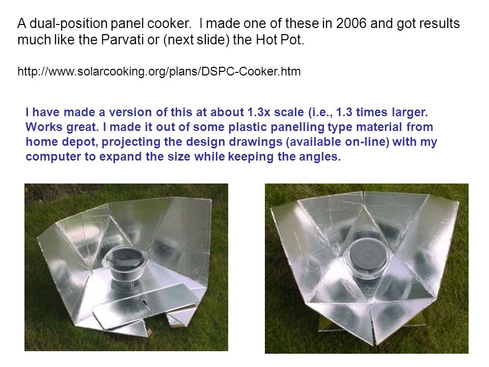 A dual-position panel cooker