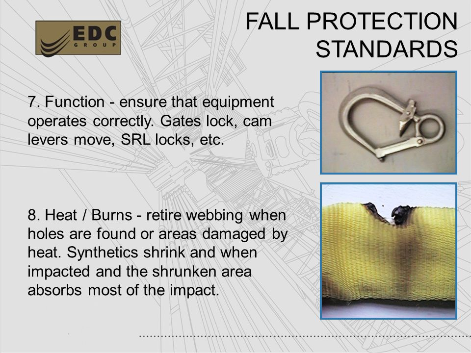 FALL PROTECTION STANDARDS