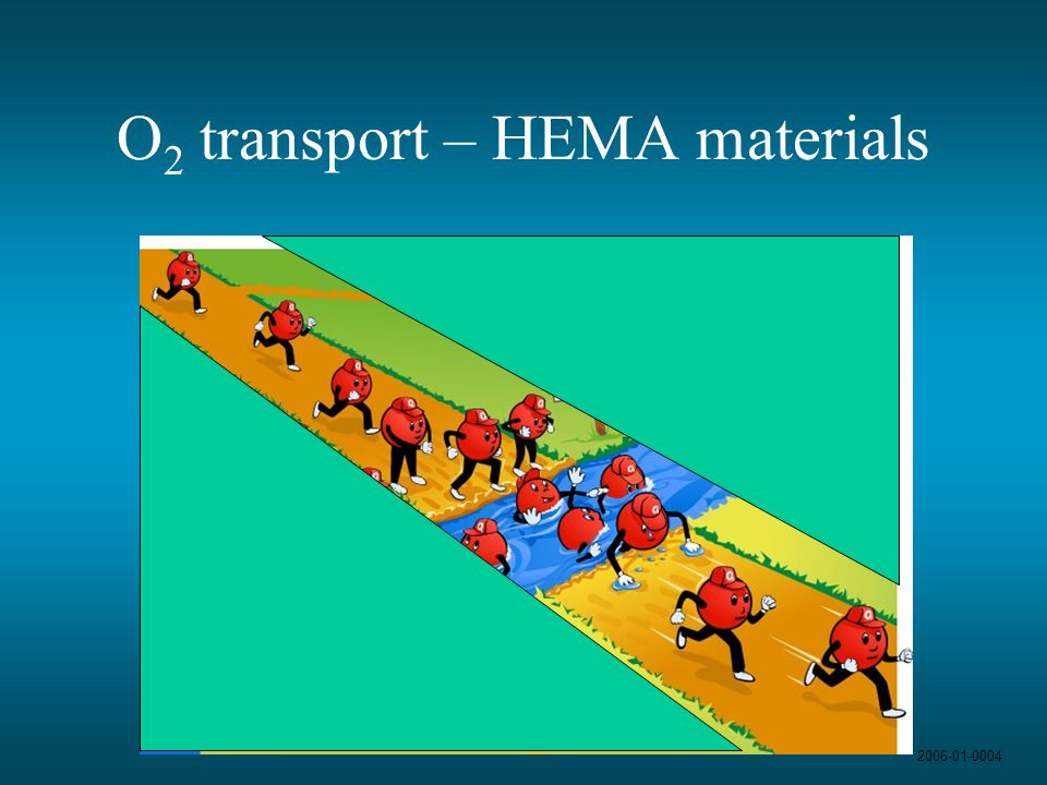 O2 transport – HEMA materials