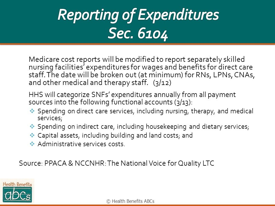 Reporting of Expenditures Sec. 6104