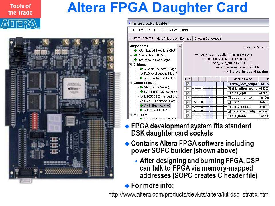 Altera FPGA Daughter Card