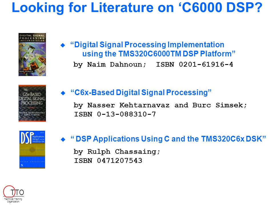 Looking for Literature on 'C6000 DSP