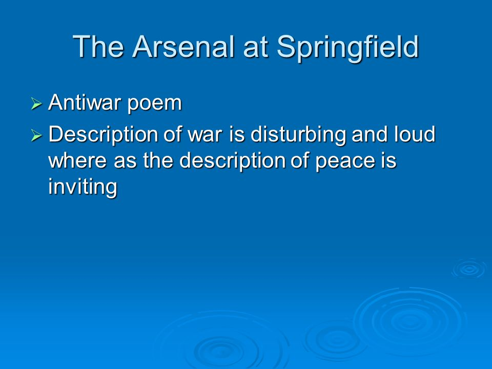 The Arsenal at Springfield