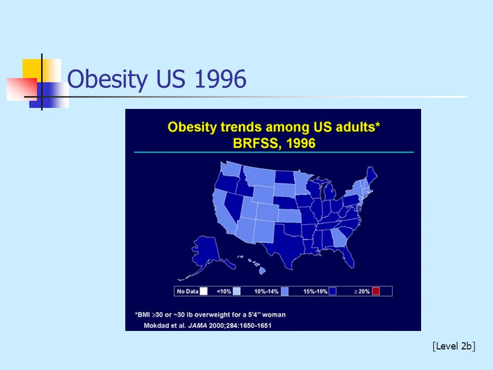 Obesity US 1996 [Level 2b]
