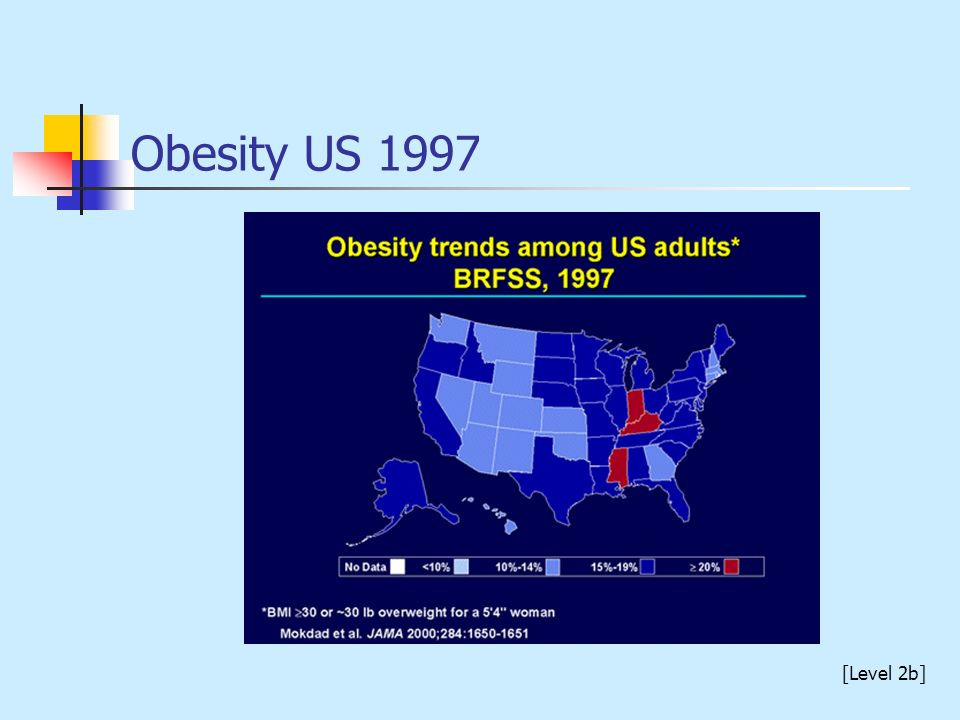 Obesity US 1997 [Level 2b]