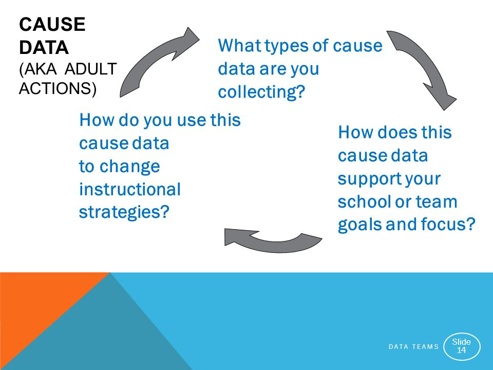 Cause Data (aka Adult Actions)