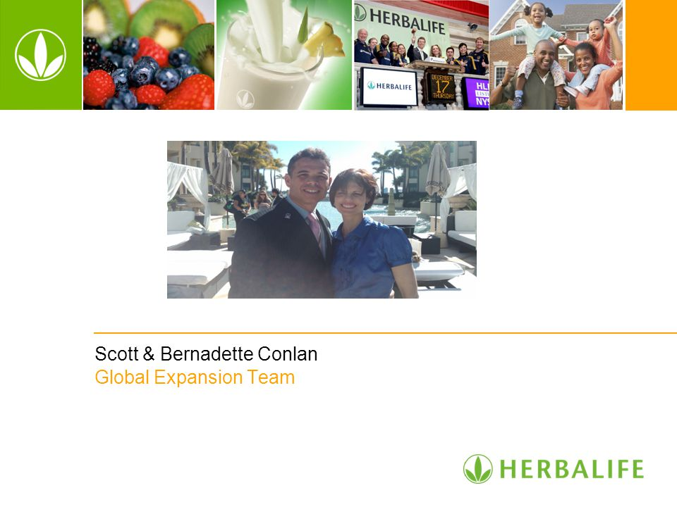 Scott & Bernadette Conlan Global Expansion Team